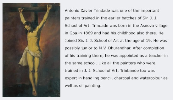 Old Master A. X. Trindadeे