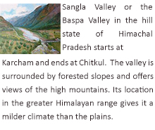 Sangla Valley, Himachal