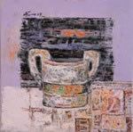 paper mug - 1, Painting by Ajay Deshpande