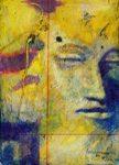 Meditation - II, Painting by Aniruddha Chaudhuri