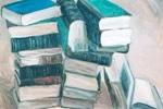 books, Painting by Arunabha Ghosh