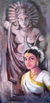 Painting - III, Painting by Arundhati Dhumale