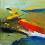 The Milestones of my Journey , Painting by Bhalchandra Mandke
