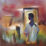 A Girl, Painting by Bhawana Choudhary