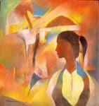 A Girl - II, Painting by Bhawana Choudhary