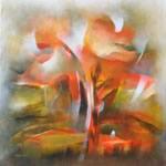 Amaltas - II, Painting by Bhawana Choudhary
