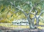 Landscape - II, Painting by D S Khatavkar