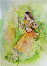 Moods, Painting by Deepali Sagade