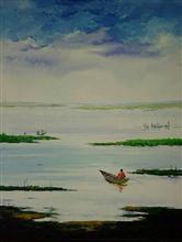 On The Way, Painting by Deepali Sagade