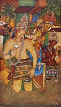 Padmapani, Painting by Vijay Kulkarni