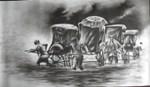 Monsoon - II, Painting by Ananda Das
