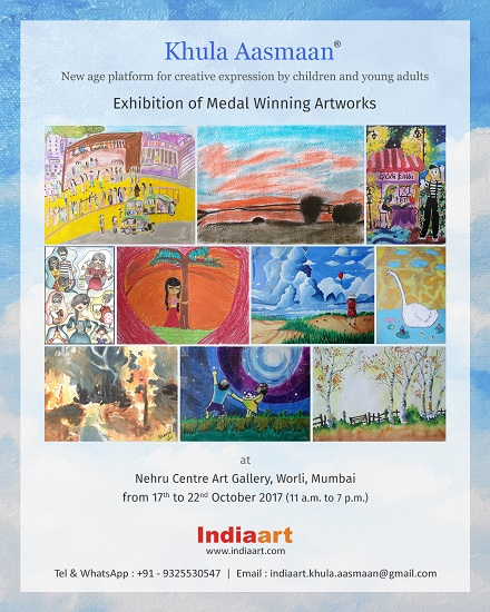 Khula Aasmaan - Exhibition of Medal Winning Artworks