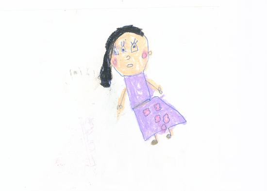 Dhanishta Suryavanshi (5 years),Vileparle Mahila Sangh English Medium High School, Mumbai