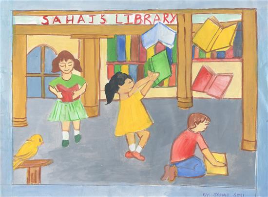 Sahaj Sohi (11 years),Delhi Public School, nav1i Mumbai