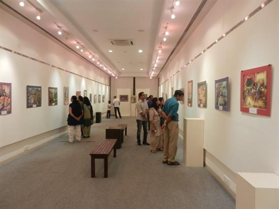 Exhibition of Paintings by Russian Children