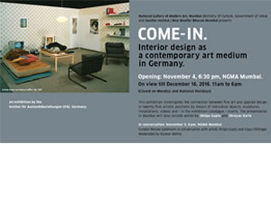 Come In : Interior Design as a Contemporary Art Medium in Germany