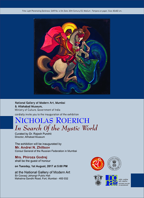 Exhibition of Nicholas Roerich - In Search of the Mystic World Curated by Dr. Rajesh Purohit