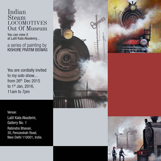 Indian Steam Locomotives Out of Museum