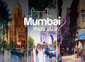 Mumbai meri jaan Exhibition of Paintings by Sachin Bhangade