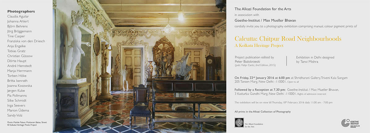 Photography exhibition on Calcutta