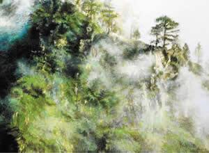 Remembering Uttarakhand Landscapes Solo Exhibition by Kumud Jasani
