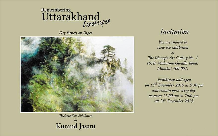 Remembering Uttarakhand Landscapes