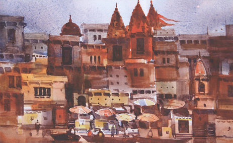 A solo exhibition of Paintings and Graphics