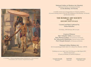 THE BOMBAY ART SOCIETY (1888-2016) HISTORY & VOYAGE