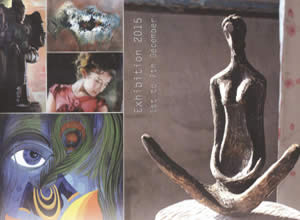 Wild Thoughts, Exhibition of Sculpture & Painting (Group show)