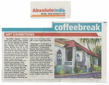 Media coverage for Beautiful Spaces by Chitra Vaidya