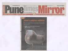 Media coverage for Bronze Sculptures by Tanmay Banerjee