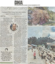 Media coverage for Call of the Hills, photographs and writing by Milind Vishwas Sathe