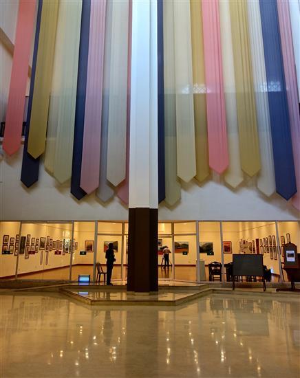 View of the Art Gallery at Nehru Centre, Mumbai