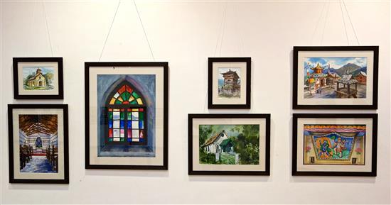 Display at Nehru Centre Art Gallery - 3