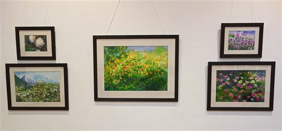 Display at Nehru Centre Art Gallery - 5