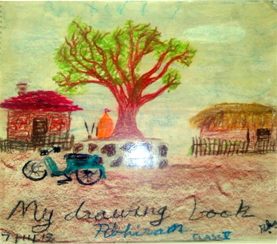 painting by Abhiram Kalve