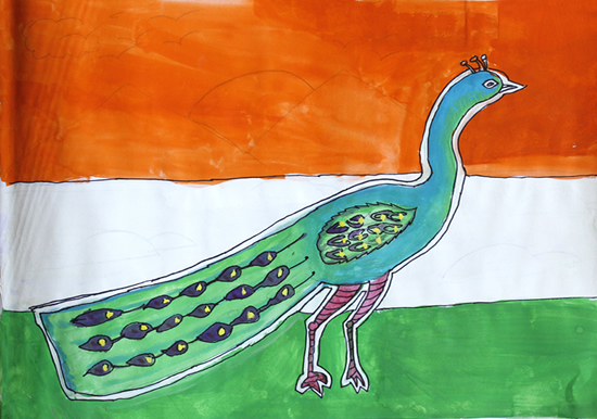 painting by Advait Sapkal