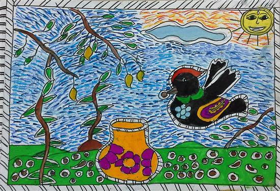 painting by Aishwarya Ramchandran