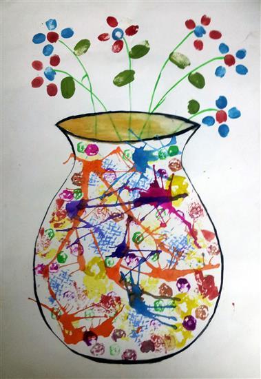 painting by Akshita Shorewala