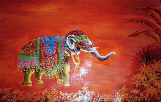 painting by Alisha Wagh