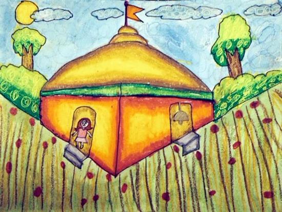 painting by Ananya Shah
