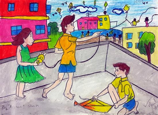 painting by Archeet Supal Shah