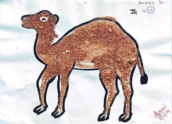 painting by Arnav Karwande