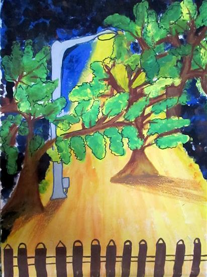 painting by Avanti Bhagwat