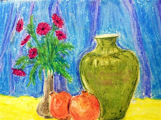 painting by Dhanashree Goregaonkar