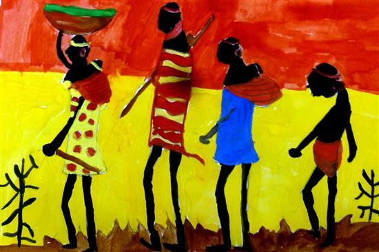 painting by Ekta Gupta