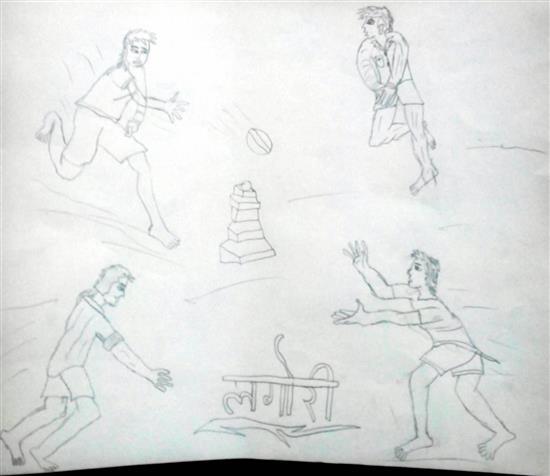 painting by Kahan Dandekar