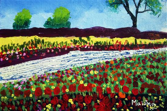 painting by Maisha Furniturewala