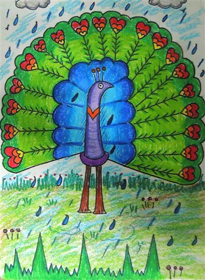 painting by Prisha Sanat Sheth