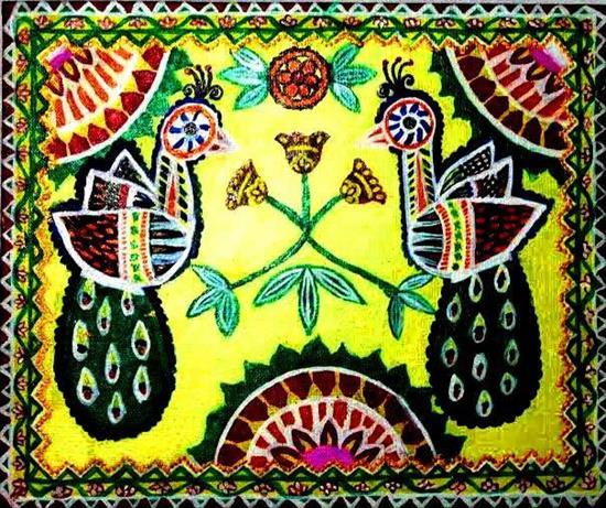 painting by Rashi Goregaonkar